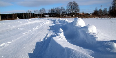 Snow Fencing for Winter