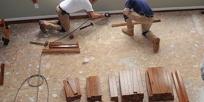 Installing a Hardwood Floor Tools